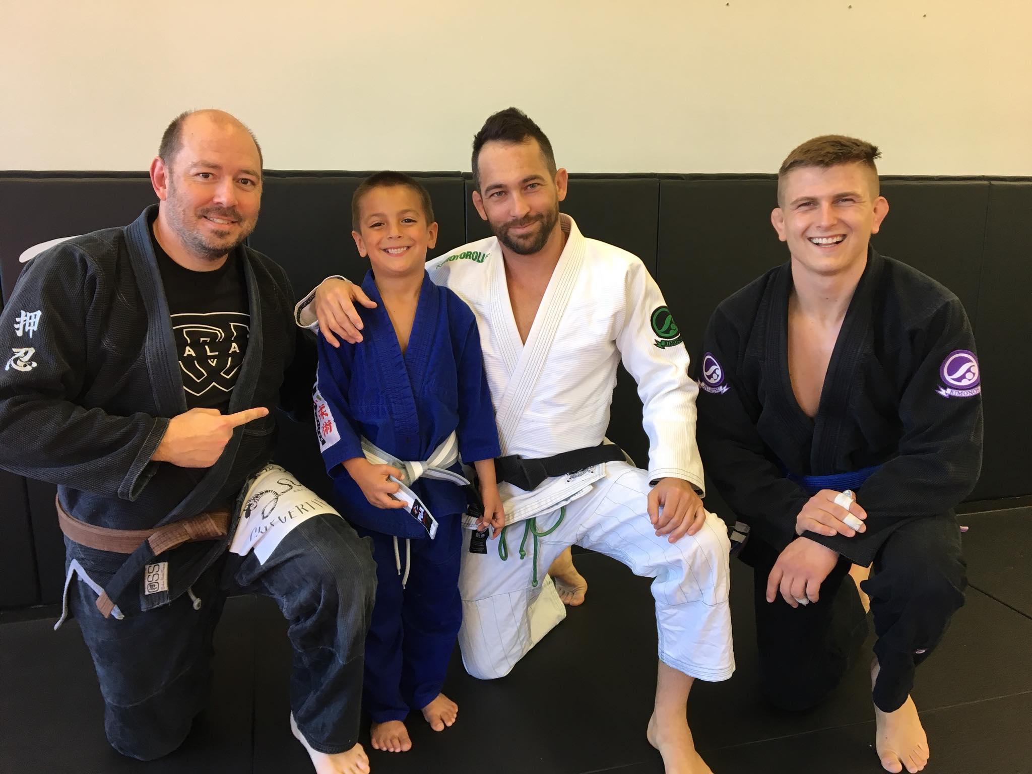 Kids Jiu Jitsu Dean Promotion