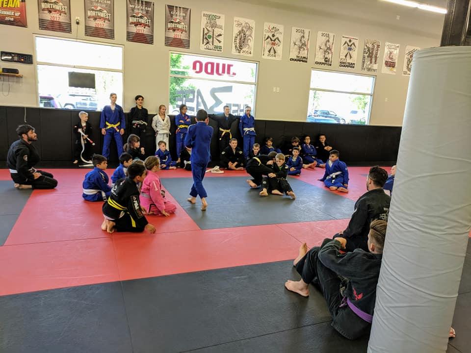 Kids Jiu Jitsu Class