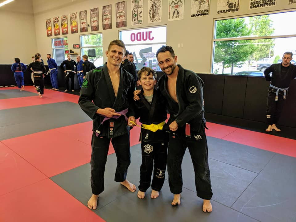 Kids Jiu Jitsu Daniel Promotion